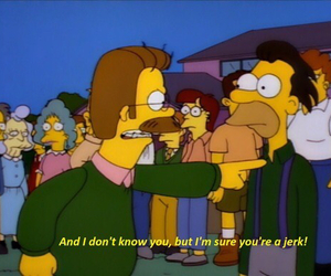 simpsons, the simpsons, and flanders image