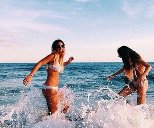 summer, sea, and love image
