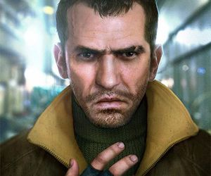 game, niko bellic, and grand theft auto image