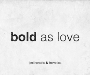 bold, helvetica, and love image