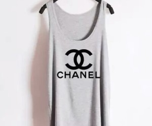 chanel, fashion, and grey image
