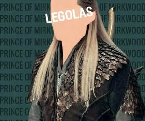 elf, Legolas, and LOTR image