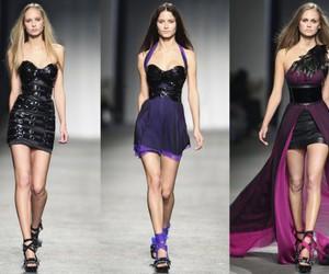 designer, fashion, and runway image