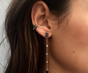 earring and fashion image