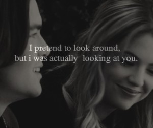 couple, pretty little liars, and haleb image