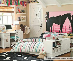 horse, bedroom, and room image