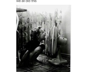black and white, childhood, and kids image