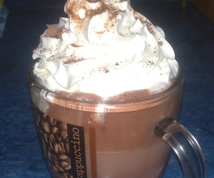 Hot, hot chocolate, and sweet image