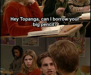 boy meets world, topanga, and shawn hunter image