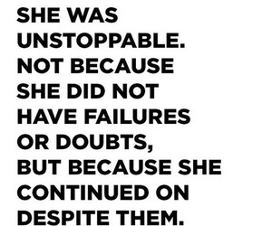 unstoppable and quote image