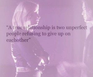 give up, Relationship, and pretty little liars image