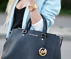 fashion, Michael Kors, and bag image