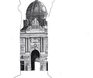 architectural, drawings, and gorgeous image
