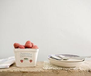 strawberries, svenska, and swedish image