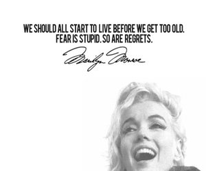 Marilyn Monroe, Queen, and quotes image