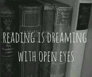 reading, book, and dreaming image