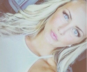 blonde, eyes, and goals image