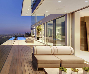 home in hollywood hills, hollywood artist house, and hollywood designs image