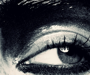 Ben Hassett, eye, and smoky eyes image