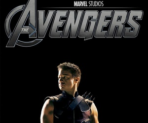 Avengers, jeremy renner, and hawkeye image