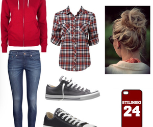 outfits, teen wolf, and stiles stilinski image
