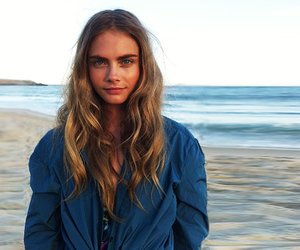 cara delevingne, model, and beach image