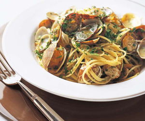 clams, food, and pasta image