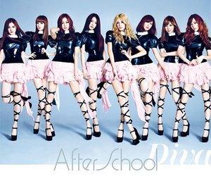 after school and korean image