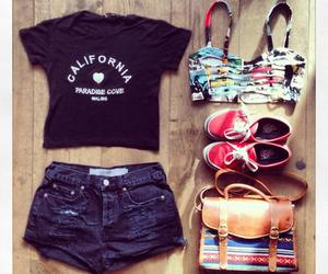 outfit, fashion, and bag image