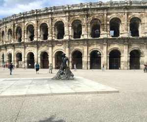arena, france, and Nimes image