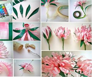 deco, diy, and flower image