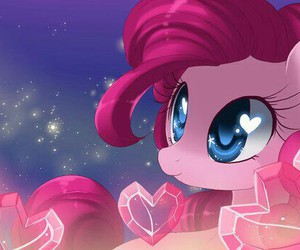 my little pony, MLP, and pinkie pie image