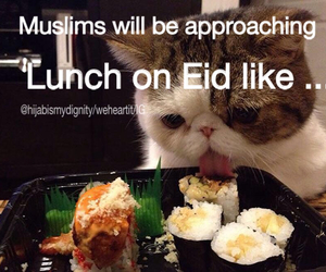 allah, eid, and funny image