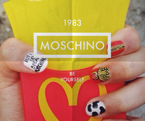 background, case, and Moschino image