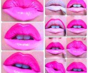 diy, lips, and pink image
