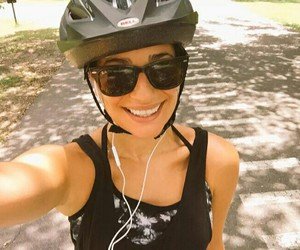 girl, lea michele, and sport image