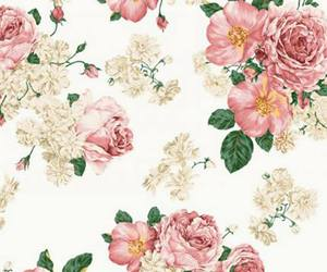 flowers, cover, and pink image