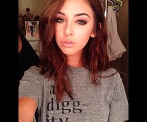 brunette, selfie, and nadia mejia image