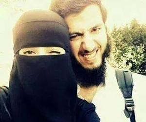 islam, couple, and muslim image