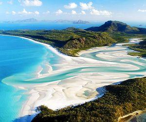 beach, australia, and sea image