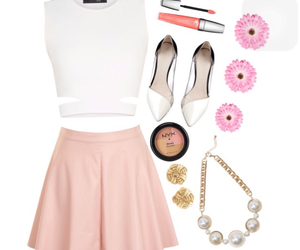 outfit, pastel, and pink image