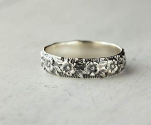 ring, silver, and accessories image