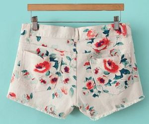 fashion, floral, and pants image