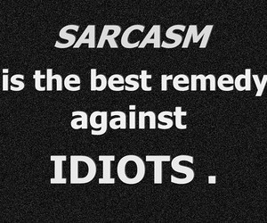 sarcasm and text image