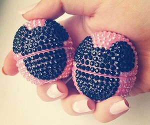 eos, pink, and mickey mouse image
