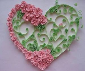creative, heart, and roses image