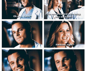 alex karev, greys anatomy, and arizona robbins image