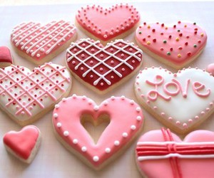 Cookies, love, and heart image