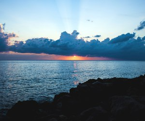 nature, sky, and sea image