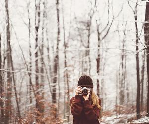 winter and camera image